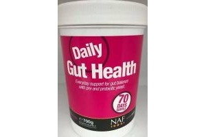 NAF Daily Gut Health 700g 70 Day Supply Horse Digestive Supplement