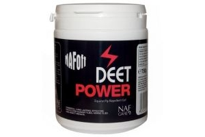 NAF Off DEET Power Gel - 750g - Long lasting protection against flies, horse flies and insect menace.