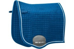 WeatherBeeta Prolux Dressage Saddle Pad Royal Blue