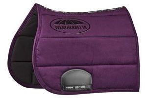 Weatherbeeta Elite All Purpose Saddle Pad Full Size Purple Penant