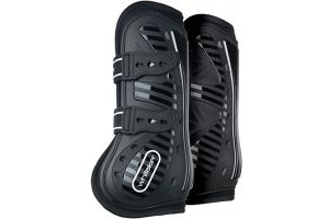 John Whitaker Bingley Tendon and Fetlock Boots Full Size Black