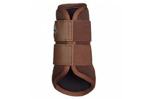 LeMieux Mesh Brushing Boots - Brown, X-Large
