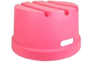 Classic Showjumps Standard 1 Step Mounting Block Pink