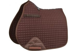 LeMieux ProSport GP Jumping Square (Standard Strap) - Brown, Large
