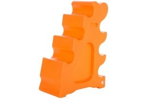 Classic Showjumps Sloping Jump Block Orange