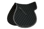 Roma Grand Prix High Wither All Purpose Pad - Black/White - Warmblood
