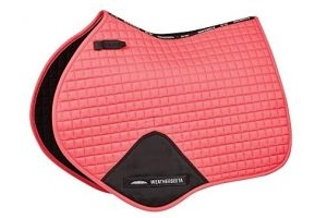 Weatherbeeta Prime Jump Shaped Saddle Pad (Full) (Paradise Pink)