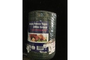 Electric Fence Fencing Fenceman 200m x 20mm White Tape Horse Pony