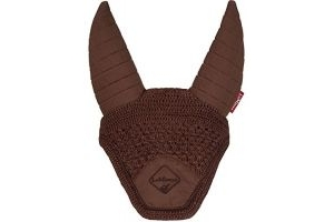 LeMieux Unisex's Acoustic Fly Hood, Brown, Large