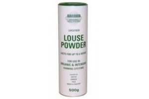 Barrier Livestock louse powder - 500g shaker