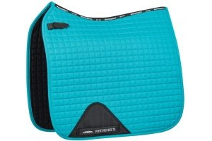 WeatherBeeta Prime Dressage Saddle Pad Turquoise