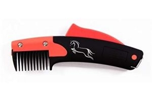 SoloGroom Solocomb (One Size) (Black/Red)