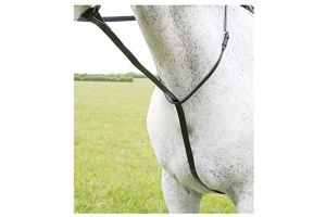 Shires Equestrian - Blenheim Standing Martingale - Havana - Size: Cob