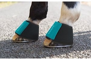 Shires Arma Neoprene Over Reach Boots - 1898, teal, Full