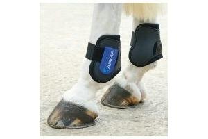 ARMA Fetlock Boots BLACK/ROYAL BLUE COB/FULL