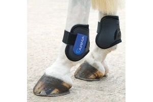 SHIRES ARMA FETLOCK BOOTS COB/FULL SIZE ROYAL/BLACK