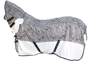 Shires Tempest Fly Combo Rug Zebra