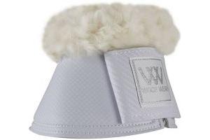 Woof Wear Pro Sheepskin Overreach Boots White Large