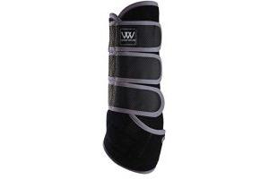 Woof Wear Dressage Wrap Black/Brushed Steel Large