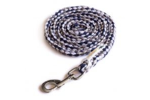 Schockemohle Catch Lead Rope Navy/Alhambra/Silver