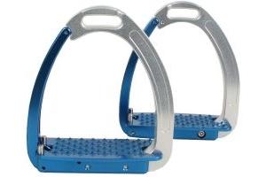Tech Stirrups Adults Venice Stirrups Blue/Silver