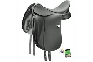 Bates Dressage Saddle CAIR 17.5 Black