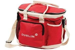Dublin Imperial Grooming Bag Red/Cream