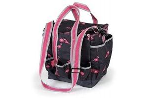 Shires Grooming Bag Flamingo Print