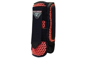 Equilibrium Tri-Zone Impact Sports Boot -Flame Red-Medium-Front