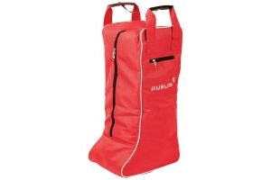 Dublin Imperial Tall Boot Bag Red/Cream