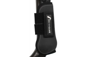 John Whitaker Tendon and Fetlock Boot Set Black