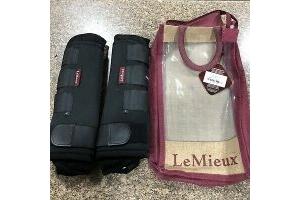 LeMieux Stable Boot Black Small One Pair RRP £59.95 Shop Sale Item