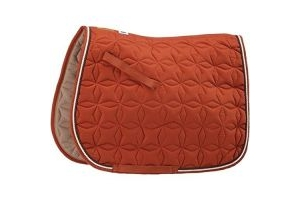 Roma Grand Prix High Wither All Purpose Numnah (Brown/White, Warmblood)