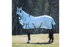 Horze Freja Fly Rug with Neck and Hood