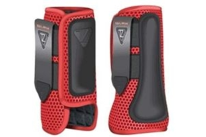equilibrium Tri-Zone Impact Sports Boot -Flame Red-Small-Front