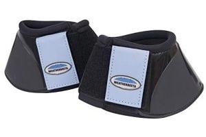 Weatherbeeta Impact Bell Boots Black/Denim Cob