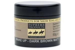 Supreme Products Professional Matt Make-Up 50g: Dark Brown