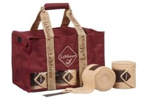 LeMieux Bandage Bag Burgundy