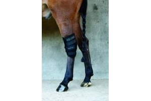 Rambo Horseware Ice Vibe Vibrating Ice Therapy Boot Hock Wrap (pair)