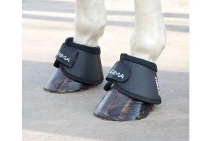 Shires ARMA Comfort Over Reach Boots: Black: Cob
