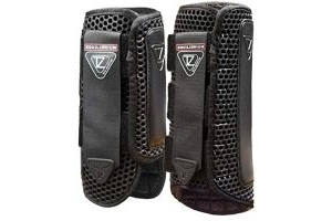 equilibrium Tri-Zone Impact Sports Boot -Black-Medium-Front