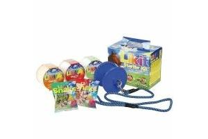LIKIT Starter Kit for Horses or Ponies Licks, Holder & Treats Blue