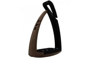 Freejump Soft'Up Pro Safety Stirrups Chocolate
