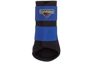 LeMieux Grafter Brushing Boot Benetton Blue