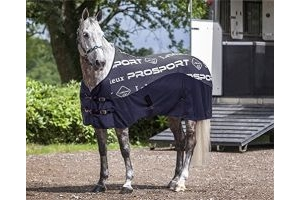 LeMieux Carbon Horse Cooler Rug - Navy Blue: 5ft6