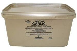 Gold Label Unisex's Garlic Powder, Clear, 3 kg