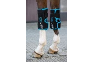 Horseware Ice Vibe Vibrating Ice Therapy Boot Knee Wrap (pair)