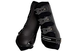 Weatherbeeta Hard Shell Dressage Boots (Full) (Black)