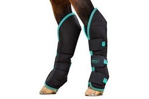 Horseware Amigo Travel Boots Pony Black/Teal/Dark Cherry