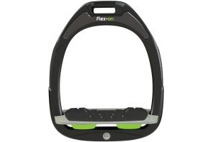 Flex-on Green Composite Inclined Stirrup Black/Green